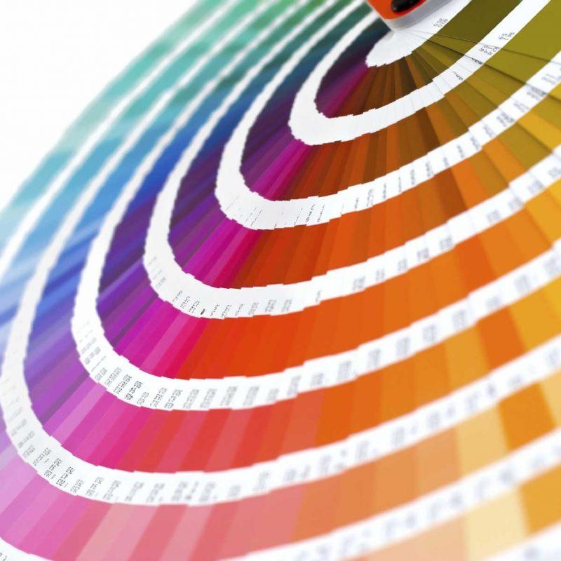 Ashby Vinyl Reference - Pantone Colour Chart