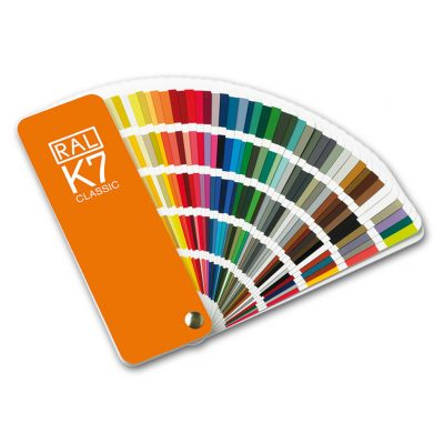 Ashby Powder Coating - RAL K7 Colour Chart