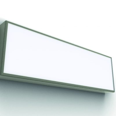 Lightbox - Slimline Single Sided - 3D - (1)