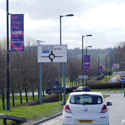 Banner System - Hamilton Roundabout